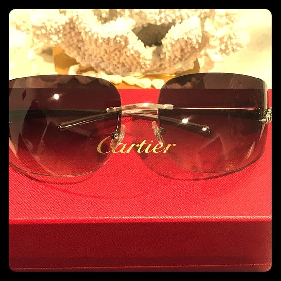 ad9ab96bdc3b Authentic New Cartier Panther Glasses💯